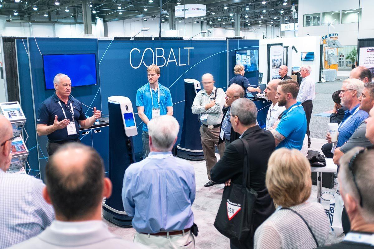 Cobalt Booth at GSX 2018
