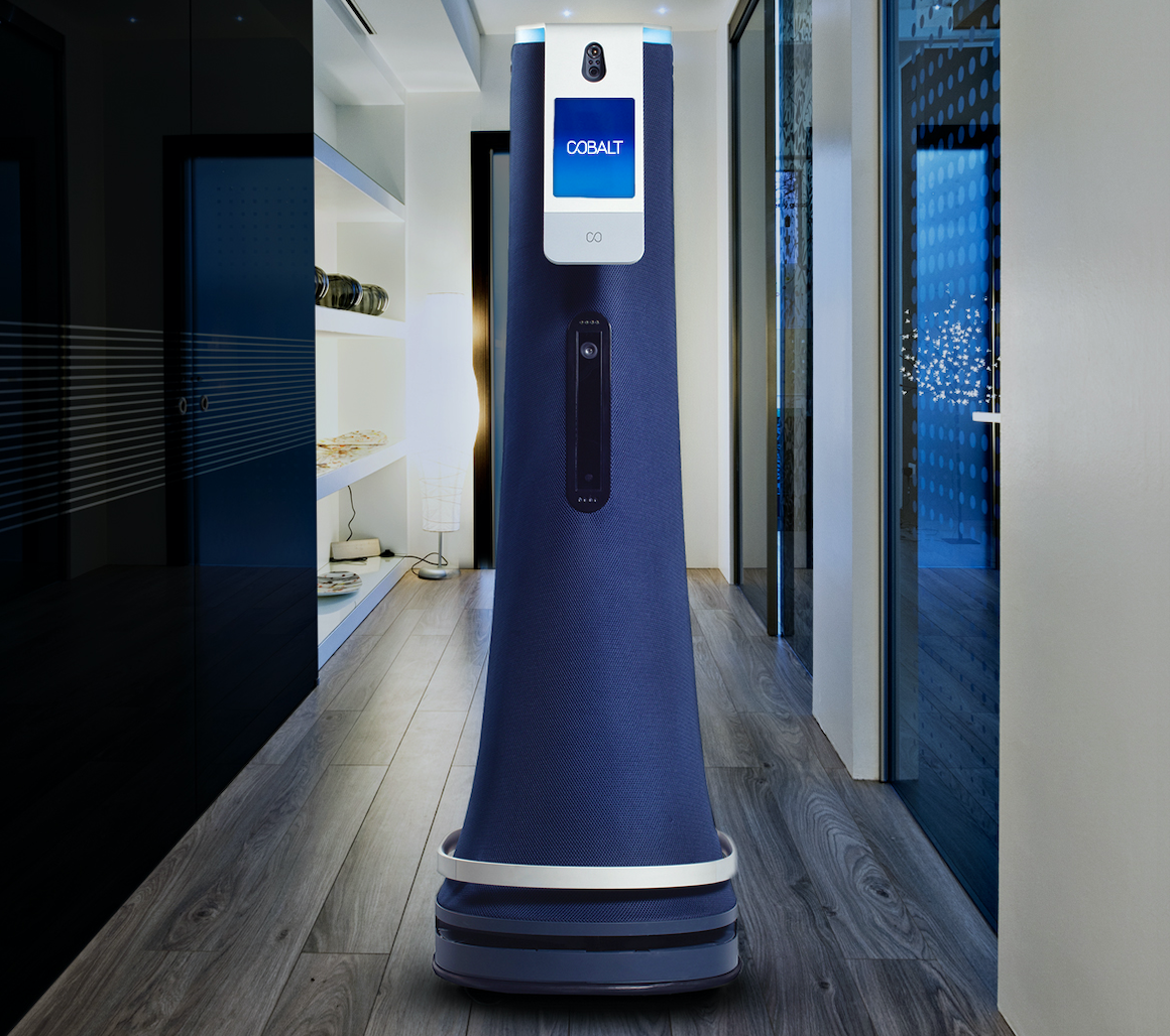 Cobalt Robot Opens Doors
